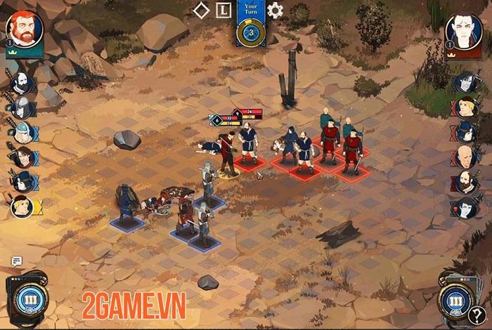 Ash of Gods: Tactics - Game thẻ bài chiến thuật sở hữu đồ họa vẽ tay đẹp mắt 0