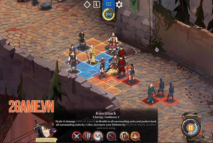 Ash of Gods: Tactics - Game thẻ bài chiến thuật sở hữu đồ họa vẽ tay đẹp mắt 1