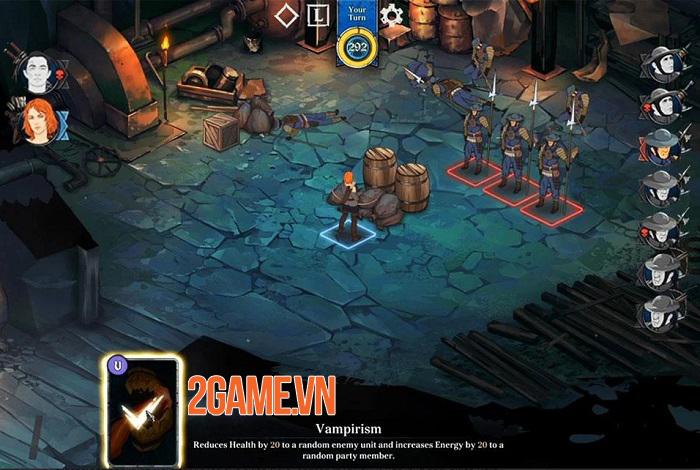 Ash of Gods: Tactics - Game thẻ bài chiến thuật sở hữu đồ họa vẽ tay đẹp mắt 2