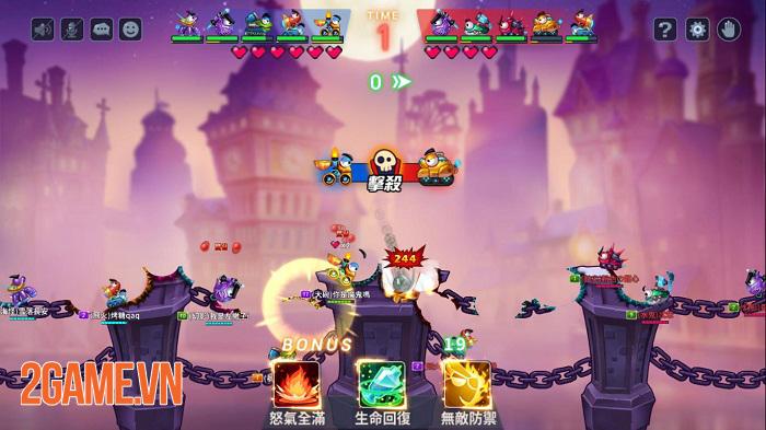 Fortress GO - Game bắn súng tọa độ có nhiều điểm tương đồng với Gunbound 0