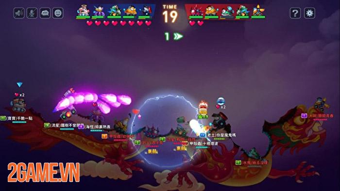 Fortress GO - Game bắn súng tọa độ có nhiều điểm tương đồng với Gunbound 3