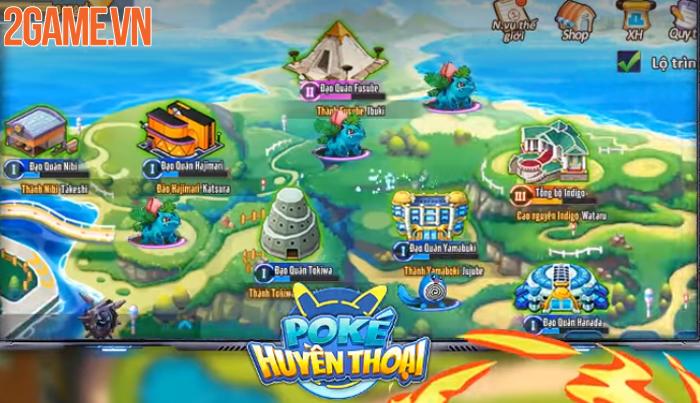 Pica Huyền Thoại - Game tiến hóa Pokemon đỉnh cao sở hữu đồ họa Full HD về Việt Nam 3