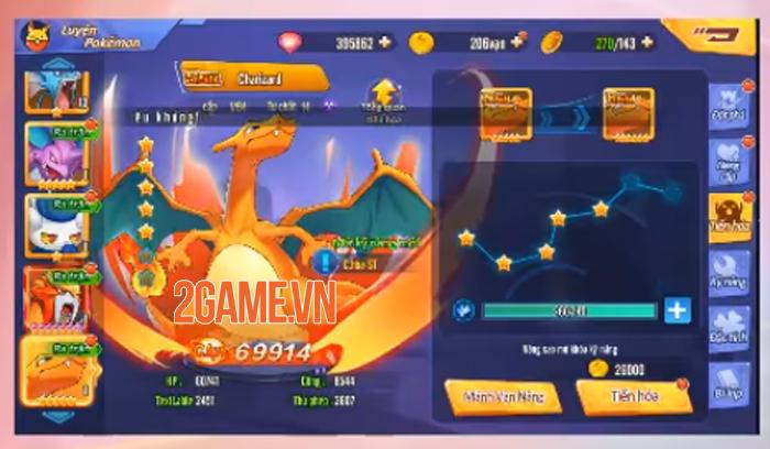 Pica Huyền Thoại - Game tiến hóa Pokemon đỉnh cao sở hữu đồ họa Full HD về Việt Nam 2