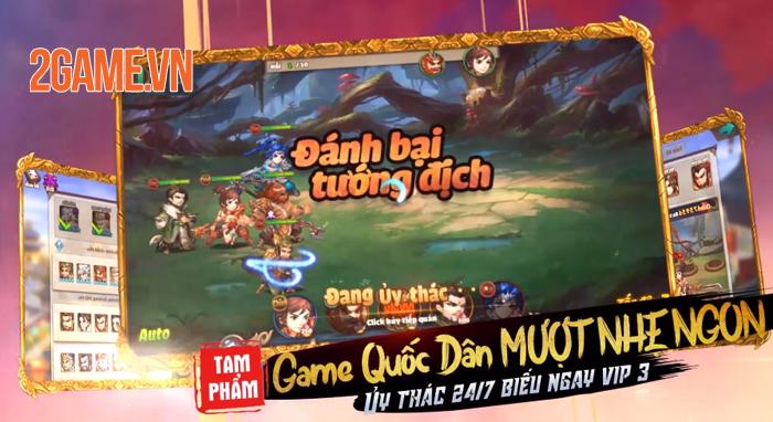 Tam Anh Quần Long Hội - Game đấu tướng tranh hạng liên server cập bến Việt Nam 4