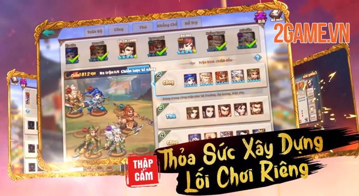 Tam Anh Quần Long Hội - Game đấu tướng tranh hạng liên server cập bến Việt Nam 1