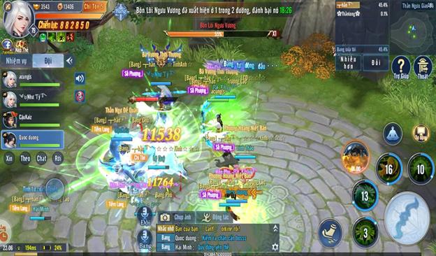 Vòng chung kết giải đấu Cực Phẩm Võ Học mùa 2 game Tình Kiếm 3D đã được khởi động! 2