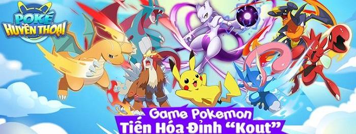 Pica Huyền Thoại - Game tiến hóa Pokemon đỉnh cao sở hữu đồ họa Full HD về Việt Nam 0