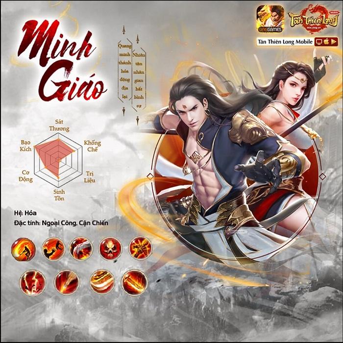 Người chơi Tân Thiên Long Mobile VNG háo hức đợi trải nghiệm môn phái mới Minh Giáo 1