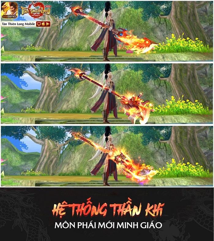 Người chơi Tân Thiên Long Mobile VNG háo hức đợi trải nghiệm môn phái mới Minh Giáo 2