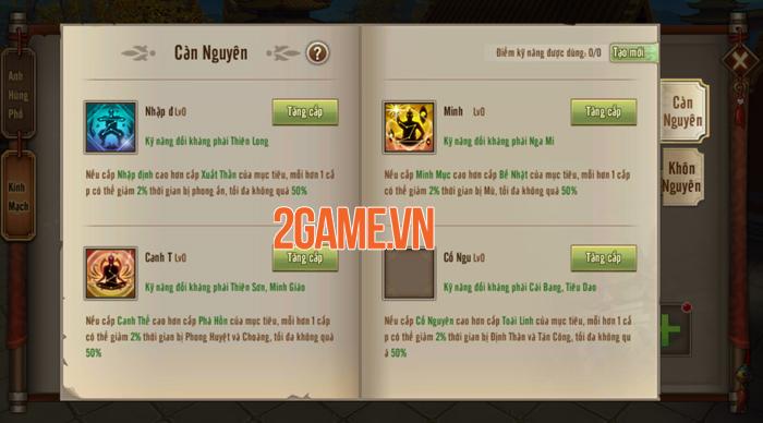 Người chơi Tân Thiên Long Mobile VNG sắp được đả thông kinh mạch 2