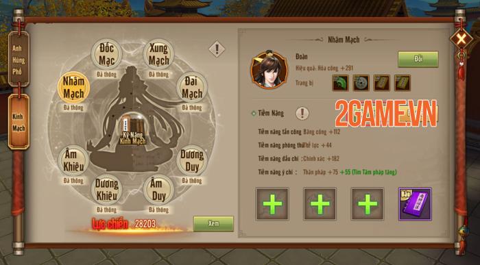 Người chơi Tân Thiên Long Mobile VNG sắp được đả thông kinh mạch 3