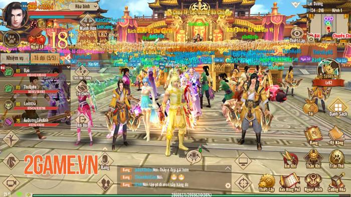 Game thủ Tân Thiên Long Mobile VNG sẽ có cơ hội chơi thử phiên bản mới tại buổi offline 0