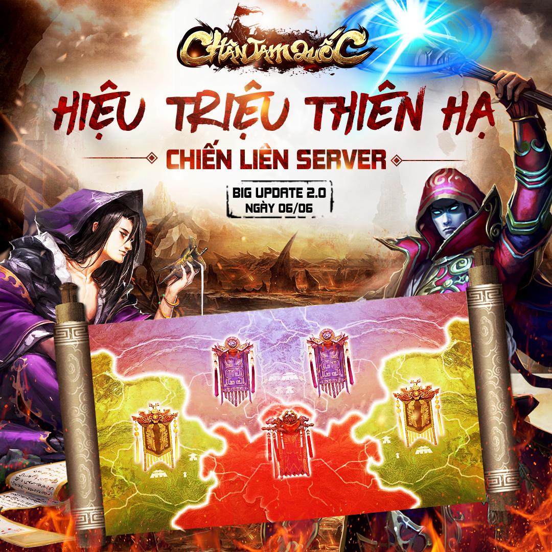 Tặng 666 giftcode game Chân Tam Quốc Mobile 1