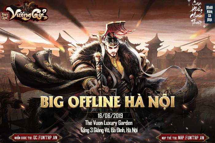 Buổi offline game Tam Quốc Vương Giả chuẩn bị diễn ra tại Hà Nội 0