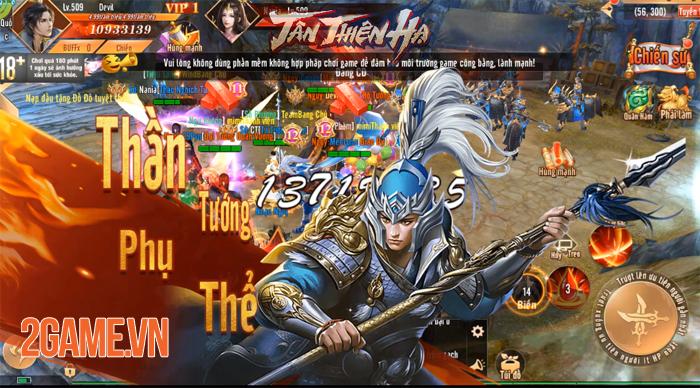 Đặt chân vào Tân Thiên Hạ Mobile người chơi chỉ việc PK cũng lên cấp! 2