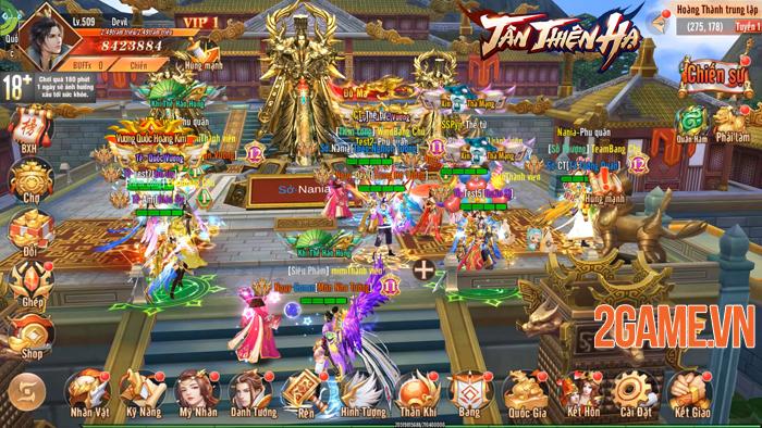 Đặt chân vào Tân Thiên Hạ Mobile người chơi chỉ việc PK cũng lên cấp! 3