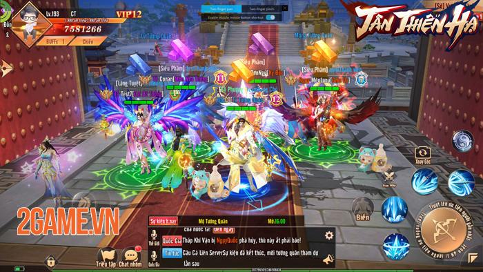 Đặt chân vào Tân Thiên Hạ Mobile người chơi chỉ việc PK cũng lên cấp! 4