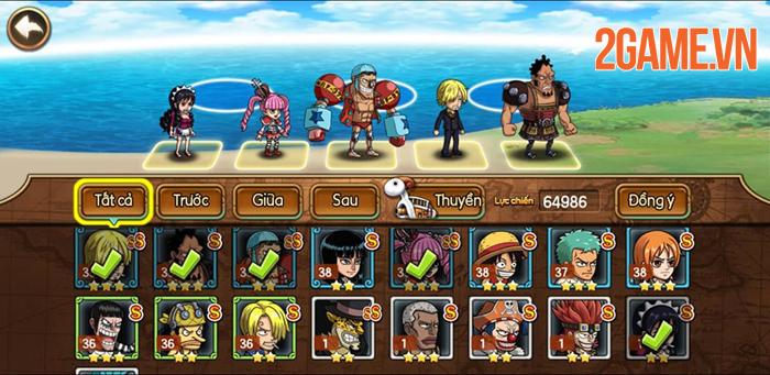 Sức hút của Kho Báu Huyền Thoại Mobile đến từ dàn tướng đậm chất One Piece 0