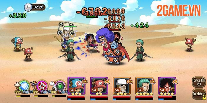 Sức hút của Kho Báu Huyền Thoại Mobile đến từ dàn tướng đậm chất One Piece 5