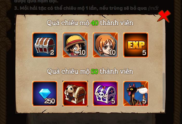 Cách lấy bộ giftcode trị giá 500.000 VND của game Kho Báu Huyền Thoại 1