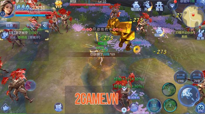 Funtap sắp ra mắt game nhập vai tiên kiếm hiệp Kiếm Ma 3D Mobile 1