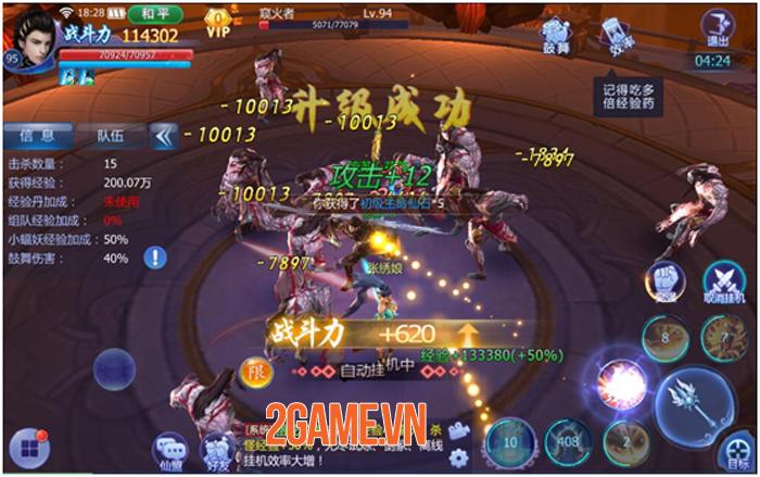 Funtap sắp ra mắt game nhập vai tiên kiếm hiệp Kiếm Ma 3D Mobile 4