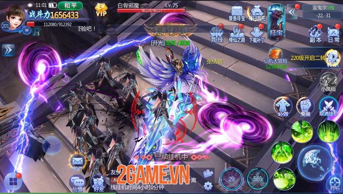 Funtap sắp ra mắt game nhập vai tiên kiếm hiệp Kiếm Ma 3D Mobile 2