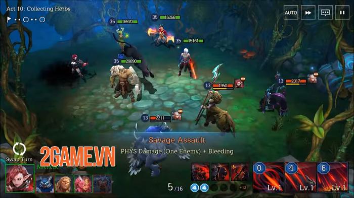 Elune - Game nhập vai chiến thuật với hệ thống tùy biến cao đến từ ông lớn Gamevil 0