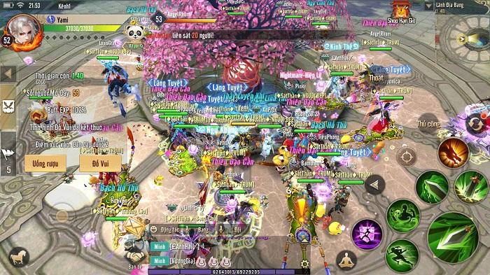 Hơn 5 năm rồi mới có một tựa game hội tụ đầy đủ tính năng nguyên bản của MMORPG như Thục Sơn Kỳ Hiệp Mobile 0