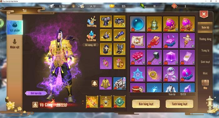 Hơn 5 năm rồi mới có một tựa game hội tụ đầy đủ tính năng nguyên bản của MMORPG như Thục Sơn Kỳ Hiệp Mobile 2