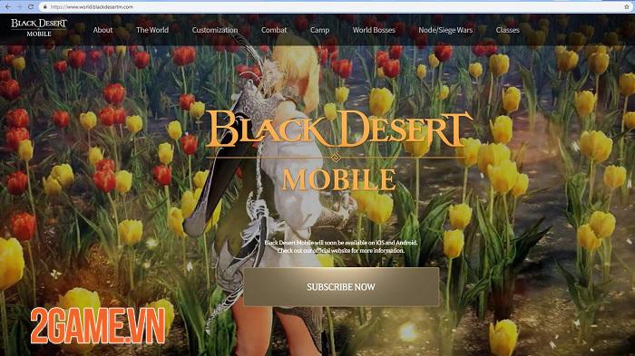 Bom tấn Hàn Quốc Black Desert Mobile ra mắt trang chủ tiếng Anh 5