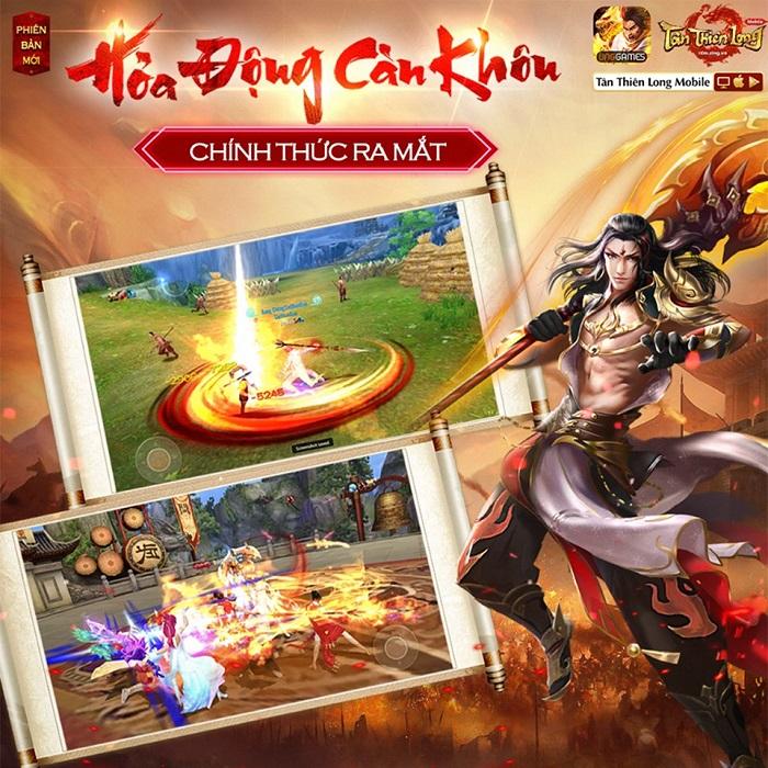 Phiên bản mới Hỏa Động Càn Khôn chính thức đến tay game thủ Tân Thiên Long Mobile VNG 4