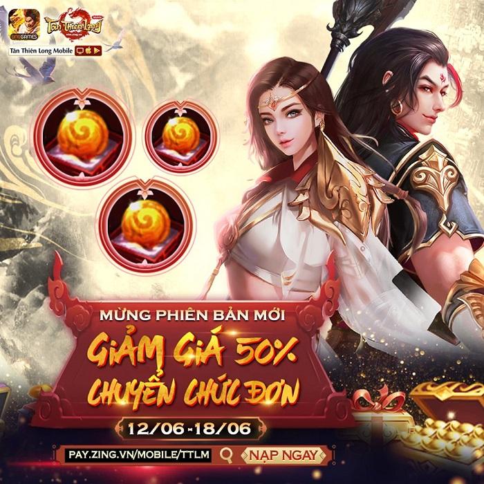 Phiên bản mới Hỏa Động Càn Khôn chính thức đến tay game thủ Tân Thiên Long Mobile VNG 5