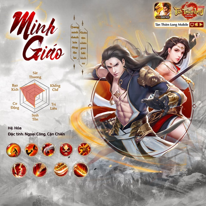 Phiên bản mới Hỏa Động Càn Khôn chính thức đến tay game thủ Tân Thiên Long Mobile VNG 1