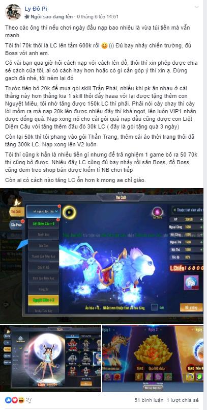 Game thủ Hành Tẩu Giang Hồ Mobile vẫn chiến game cuồng nhiệt sau 7 ngày ra mắt 3