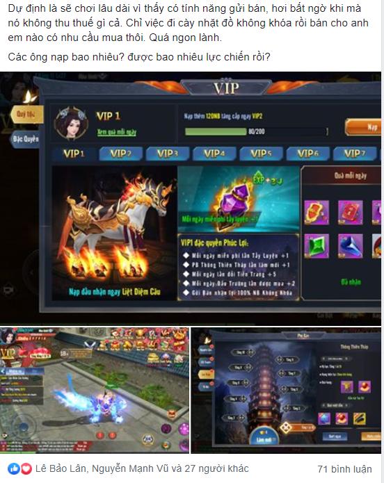 Game thủ Hành Tẩu Giang Hồ Mobile vẫn chiến game cuồng nhiệt sau 7 ngày ra mắt 4