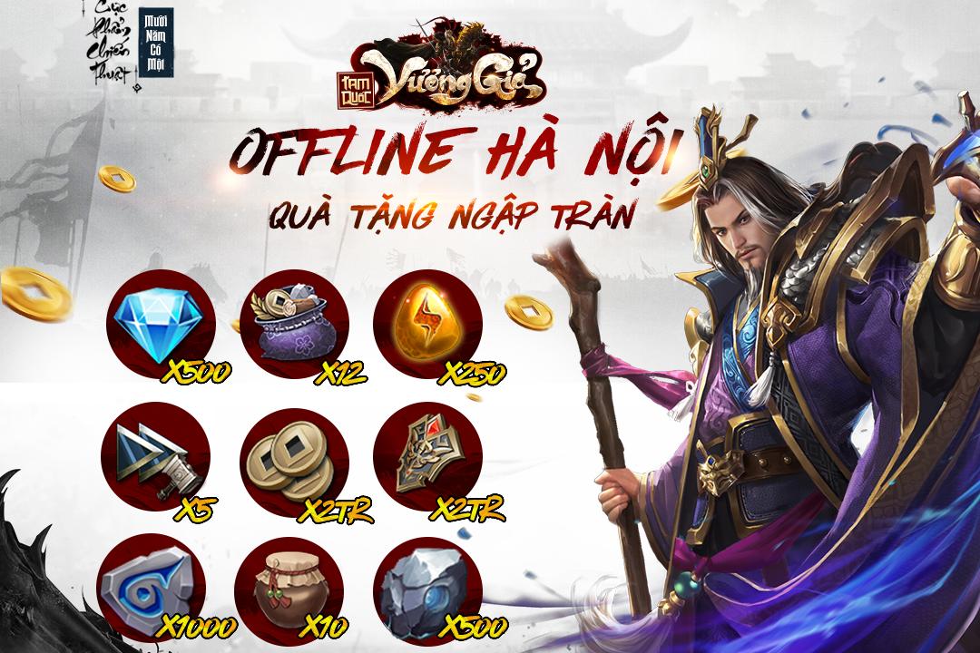 Game mobile Tam Quốc Vương Giả tổ chức offline tại Hà Nội vào chủ nhật này! 2