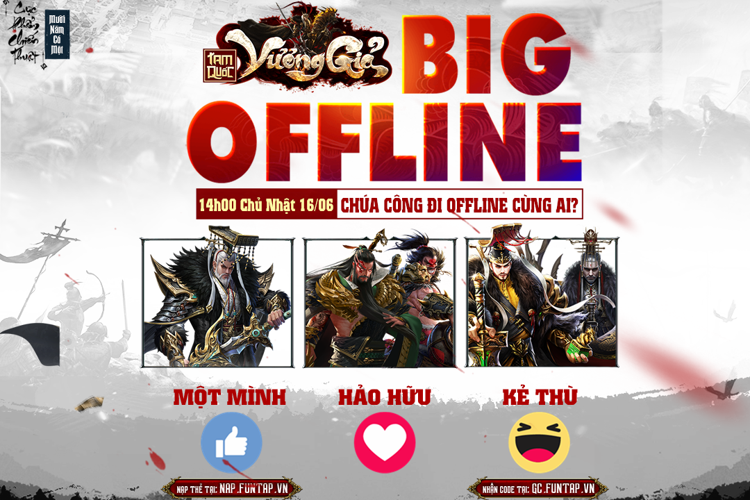 Game mobile Tam Quốc Vương Giả tổ chức offline tại Hà Nội vào chủ nhật này! 1