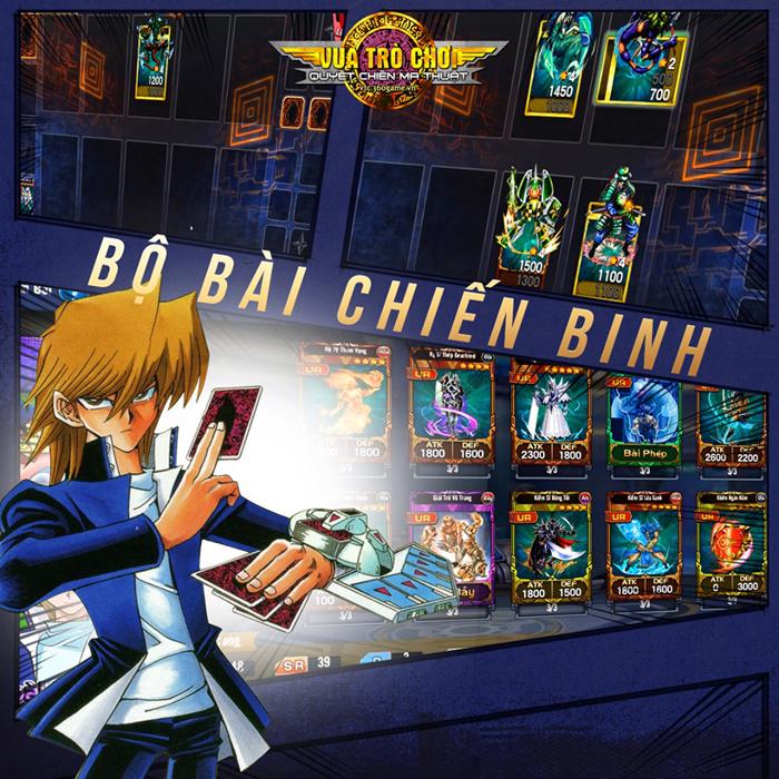 Không như mong đợi, Vua Trò Chơi Online chính là game cũ Yugi H5 0