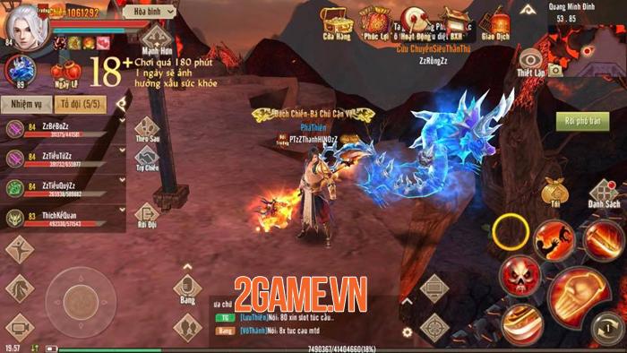 Minh Giáo mang đến những trải nghiệm chưa từng có cho người chơi Tân Thiên Long Mobile VNG 5