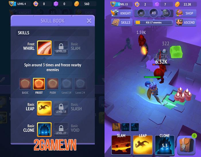 Nonstop Knight 2 trở lại với đồ họa 3D tuyệt đẹp và lối chơi chặt chém rảnh tay 1