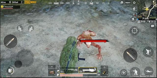 Những giống loài Zombie mới được thêm vào 2 chế độ Sống sót ở phiên bản 0.13 của PUBG Mobile 3