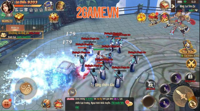 Ma Đạo Tây Du Mobile chính là phiên bản di động của webgame Đại Thoại Tây Du 6