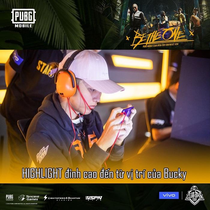 Đội tuyển PUBG Mobile VN FFQ dần lấy lại phong độ khi có sự xuất hiện của tuyển thủ Bucky 3