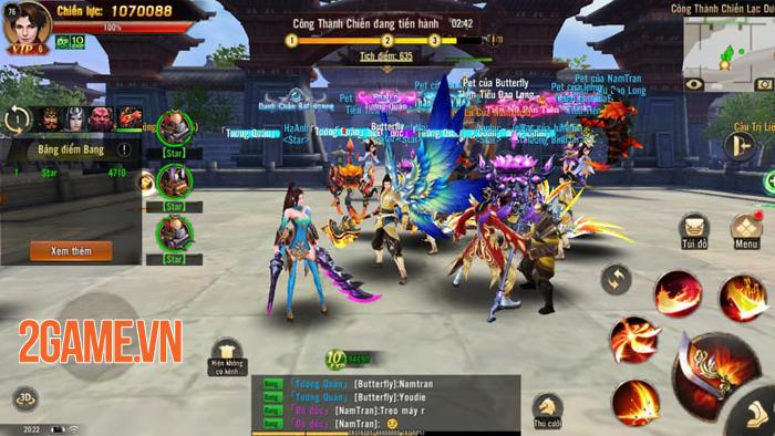 Đao Kiếm Vô Song Mobile chính là tựa game nhập vai Tam Quốc có cơ chế chiến đấu đã tay nhất! 3