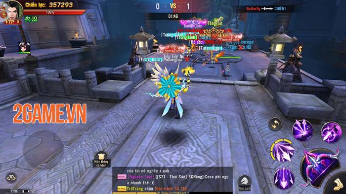Đao Kiếm Vô Song Mobile chính là tựa game nhập vai Tam Quốc có cơ chế chiến đấu đã tay nhất! 2