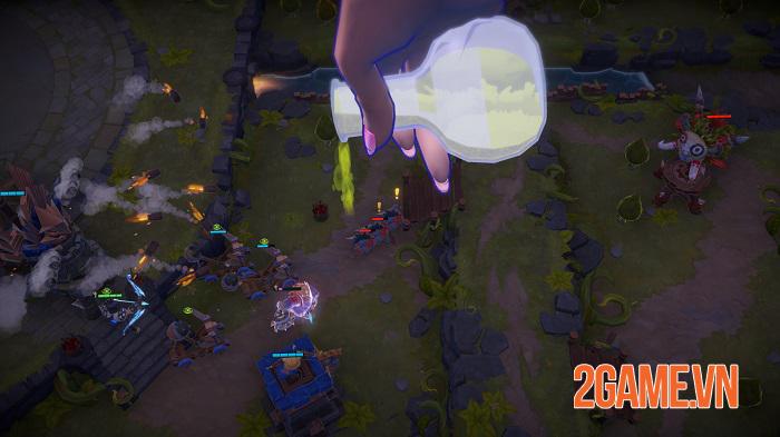 MINImax Tinyverse - Game chiến thuật thả quân cho phép bạn trở thành vị Chúa trời 1