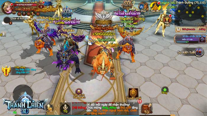 Game nhập vai Thánh Chiến 3D Mobile ra mắt trang chủ, cho tải sớm 3