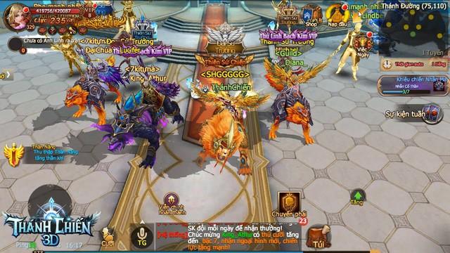 Thánh Chiến 3D - Game nhập vai thần thoại phương Tây chính thức đến tay game thủ Việt 1