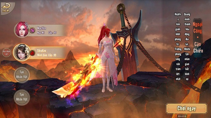 Không khí game Tân Thiên Long Mobile VNG náo nhiệt hơn hẳn khi update Hỏa Động Càn Khôn 2